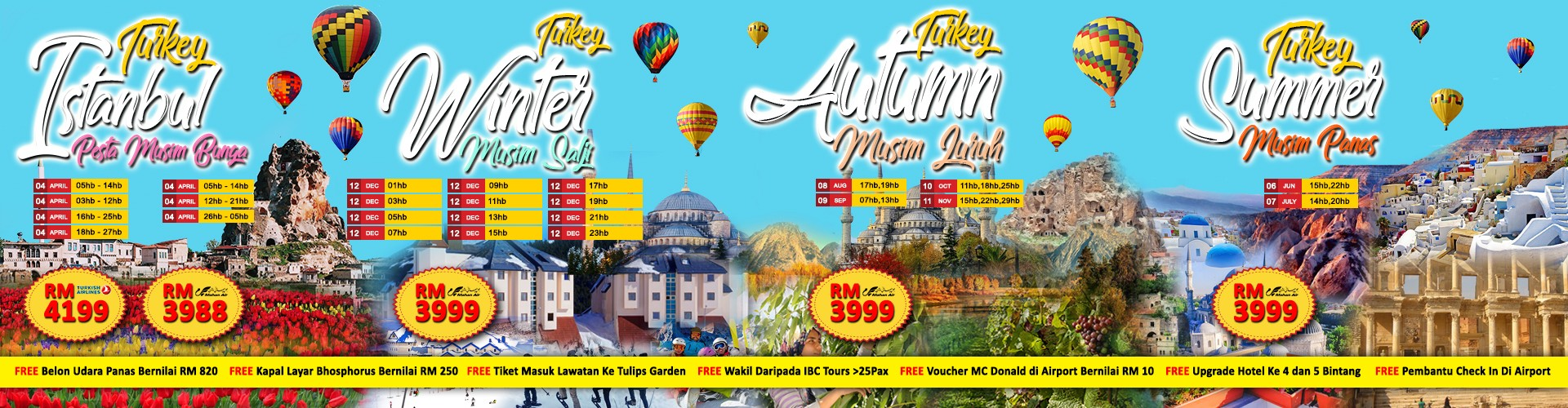 Turkey 2018 Promotion Banner