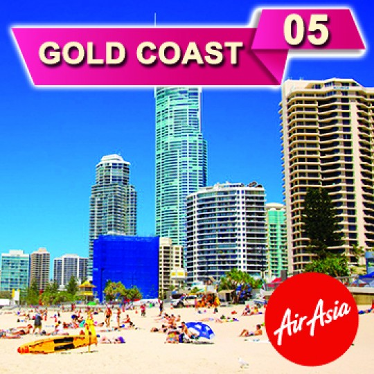 05 DAYS 04 NIGHTS GOLD COAST TOUR