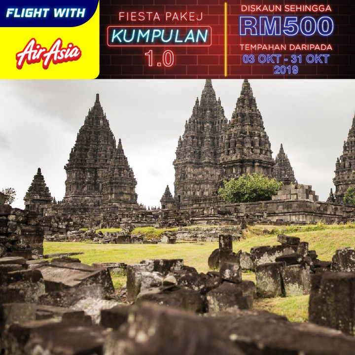 04 DAYS 03 NIGHTS JOGJAKARTA- MERAPI-BOROBUDUR TOURS