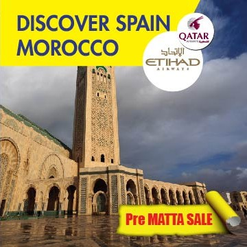 12 DAYS 09 NIGHTS DISCOVERY SPAIN + MOROCCO