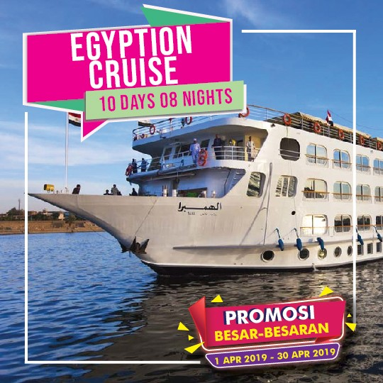 10 DAYS 08 NIGHTS EGYPTIAN CRUISE