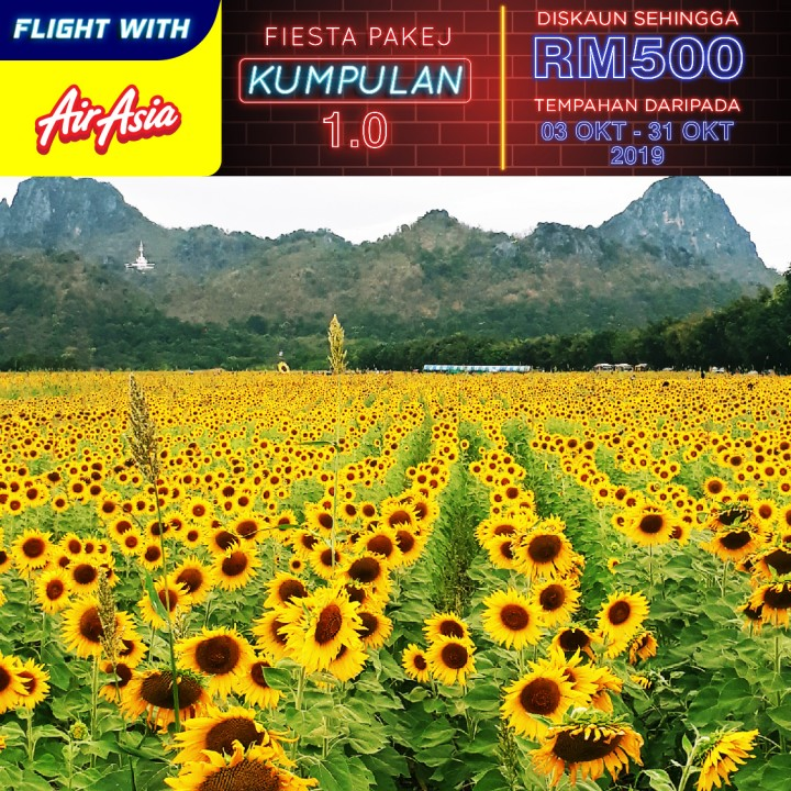 04 DAYS 03 NIGHTS BANGKOK + SUNFLOWER FESTIVAL
