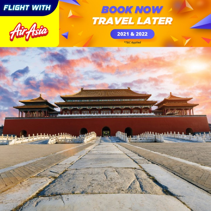07 DAYS 05 NIGHTS BEIJING BY AIRASIA