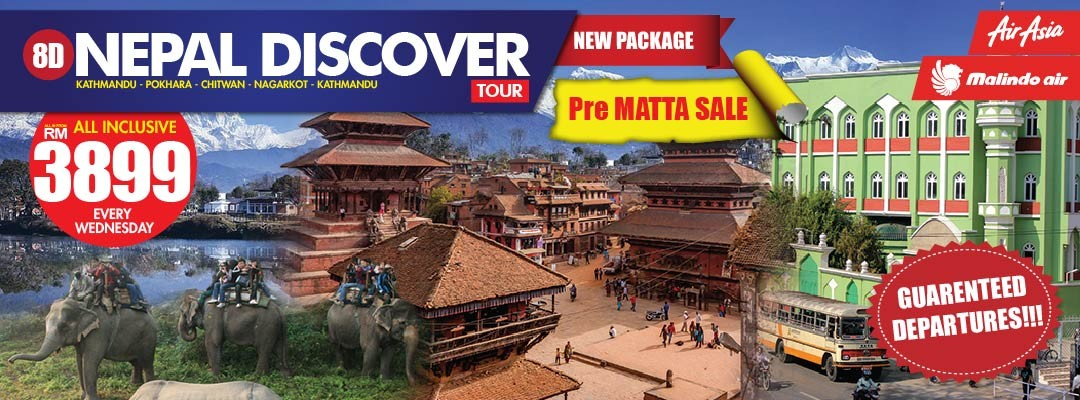 08 DAYS 07 NIGHTS NEPAL DISCOVERY TOUR