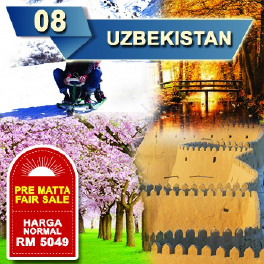 08 DAYS 06 NIGHTS UZBEKISTAN TOUR