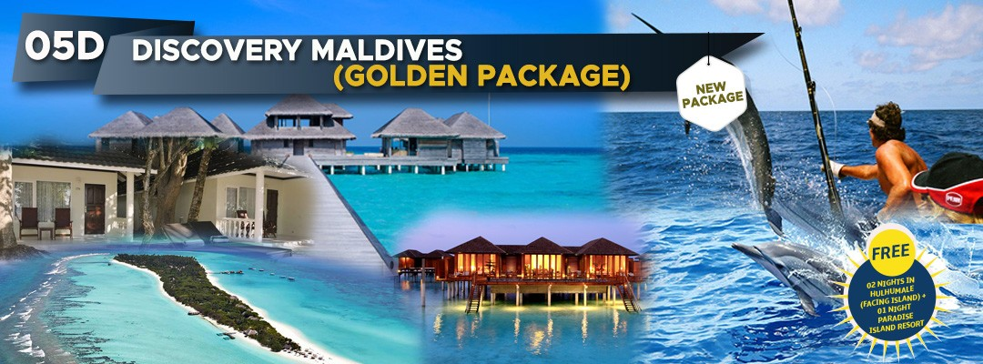 05 DAYS 03 NIGHTS DISCOVER MALDIVES - GOLDEN