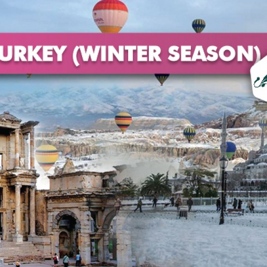 10 DAYS 07 NIGHTS DISCOVERY TURKEY ( WINTER SEASON )