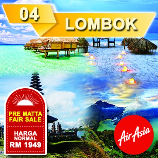 04 DAYS 03 NIGHTS FEEL THE BEAUTY OF LOMBOK