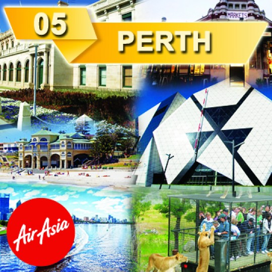 04 DAYS 03 NIGHTS DISCOVER PERTH