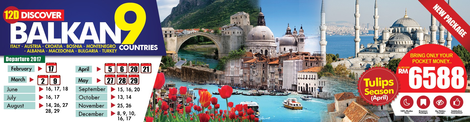 Discover Balkan 9 Countries